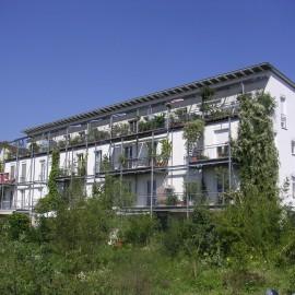 Baugruppenprojekt für 10 Familien – Haus-im-Haus Konzept
