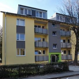Energetische Sanierung und Dachgeschossausbau Mehrfamilienwohnhaus Denzlingen